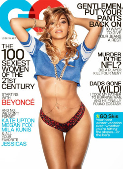 Beyonces Underboob February GQ Cover