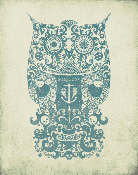 urhajos:  'The Old Owl' by Farnell