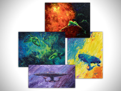 Star Trek Fine Art Prints by Jeff Foster | HiConsumption