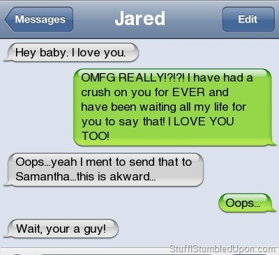 tactical-facepalm:  Funny Text Messages – Autocorrect Fail – Good News Everyone http://tactical-facepalm.tumblr.com/