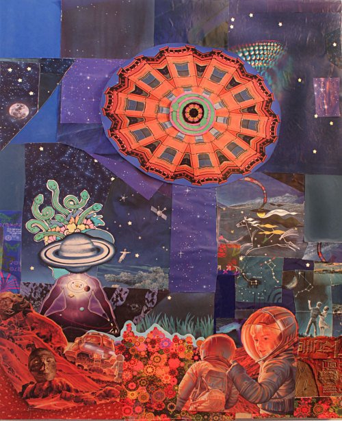 "larrycarlson:  My artwork was a part of the ""The Bearden 100"" art show by the Romare Bearden Foundation to celebrate the 100th Birthday of master artist Romare Bearden. I picked one of my favorite of his works to go alongside one of my works. Check it out here —-> http://www.beardencentennial.org/larry-carlson"