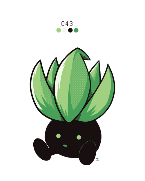Oddish by Rock Bomber