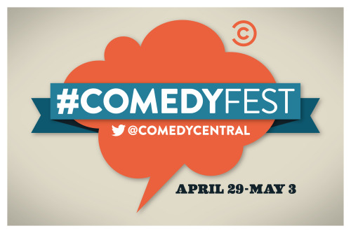 boobsradley:  comedycentral:  In one week, Comedy Central and Twitter will launch the first ever #ComedyFest, a five-day celebration of comedy taking place on Twitter. Altogether, #ComedyFest will include 16 programmed events featuring more than 50 comedians. Be sure to follow @ComedyCentral on Twitter for updates. Click through for the full lineup. Read More   Straight up stoked to do this with some of my favorite people.  One week from today at 3pm PST I will be vining for half an hour with the likes of James Urbaniak and Marlo Meekins!