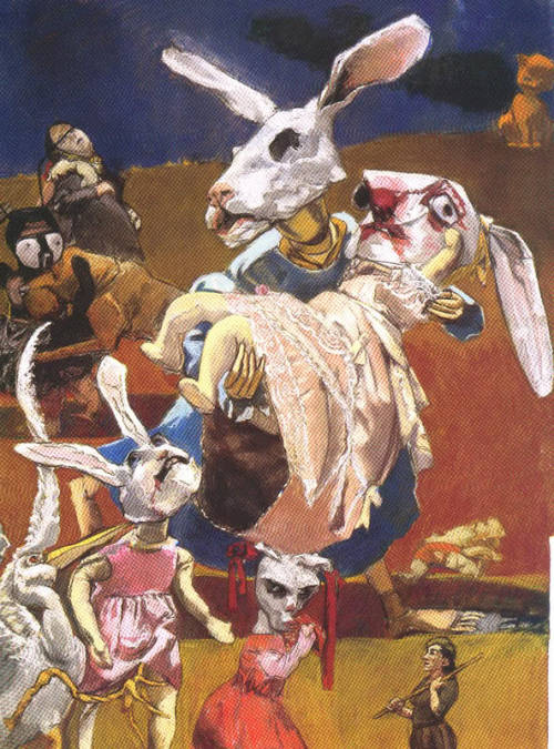 War by Paula Rego