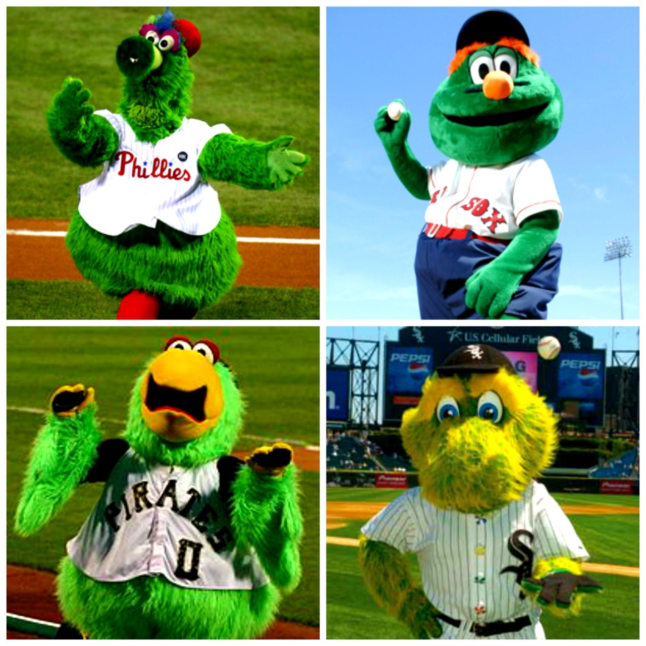 Happy Earth Day. (Photos from mlb)