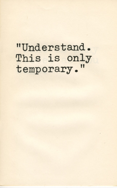 "Understand... by Davi Det Hompson, 1976 (A booklet of eight observations about the booklet) 8 page booklet  8 1/2"" x 5 1/2"" Edition: 1/100"
