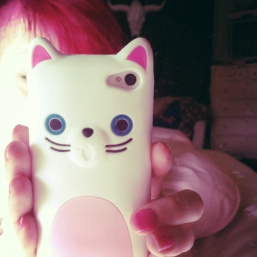 ceresleigh:  got the cutest #cat #phonecase! thanks mama 💕