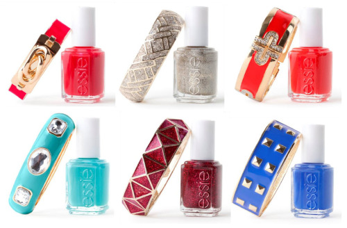 We love what BaubleBar is doing with Essie colors!! LOVES IT!!!