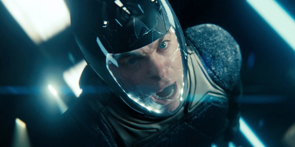 This scene looks intense. From J.J. Abrams' Star Trek Into Darkness sequel - first full teaser trailer is out now. Damn, can't wait for 2013!