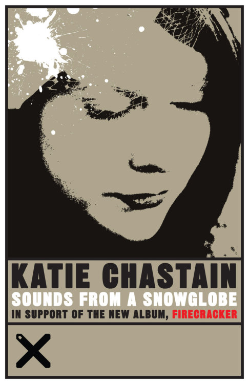 themadeshop: Katie Chastain. Final poster for Sounds from a Snowglobe.