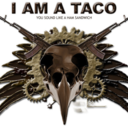This is a picture of I am a Taco