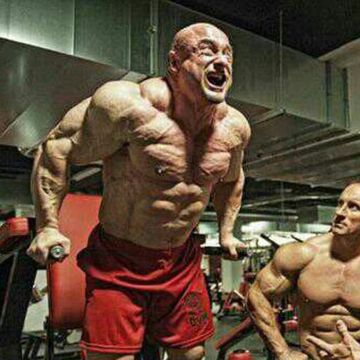 deusflex:  Beast mode. Muscle explosion. Flexing trance.