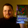 A Guy With Some Marvel Cards