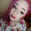 punky-pinkhaired-hufflepuff