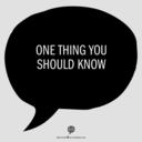 onethingtoknow
