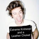 extremeknitwearandaleatherchoker