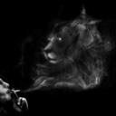 Smoking Lion