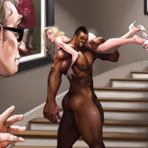 slut-trish:  womenversusbigblackcock:  having fun  All women