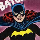 This is a picture of Batgirl!