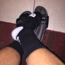 nikeslidesandsocks