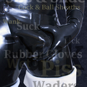 This is a picture of WaderboyLondon's Rubber Perv Page