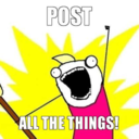 This is a picture of Post ALL the things!