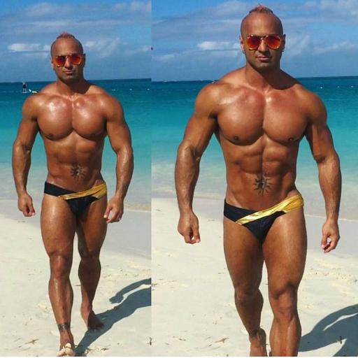 fustevepena:  He's Naked!! Model & Dancer Borrell  jr.