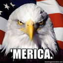 This is a picture of Merica For Mericans