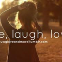 live laugh love - just be free