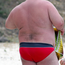 This is a picture of Chubbies in Speedo, Lykra, Thongs