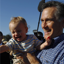 This is a picture of Mitt Romney Confusing Children