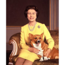 the queen loves corgis