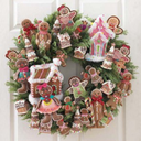 gingerbread-wreath
