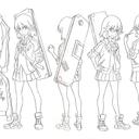 animemodelsheets