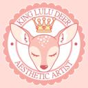 king-lulu-deer-art