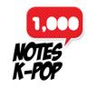 1000noteskpop