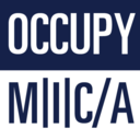 This is a picture of OCCUPY M I C A