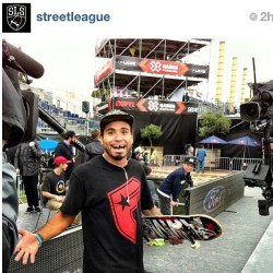 "So hyped, I can't believe I won the BARCELONA @streetleague ""Select Series"" @xgames stop! Words can describe… #skatelife #streetleague #slsatxgames #xgames #skatefamous #repost"