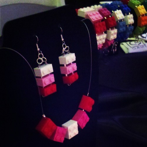 #game #jewelry #fashion #design #lego http://www.hergamejewelry.com