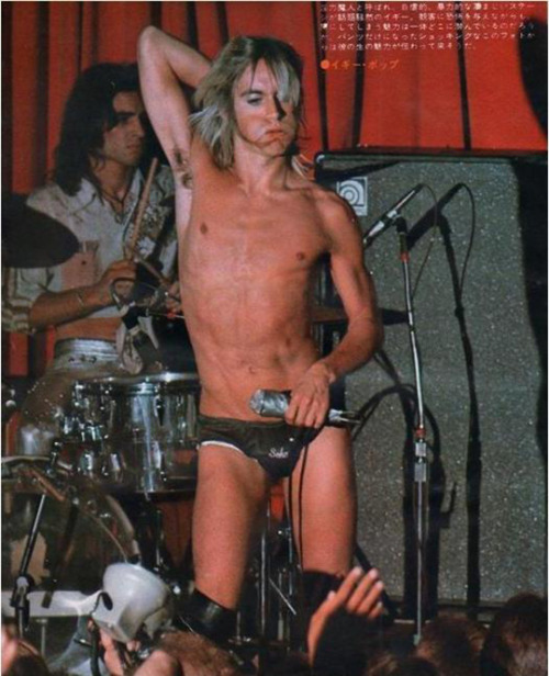 Iggy and the Stooges, early 1970s