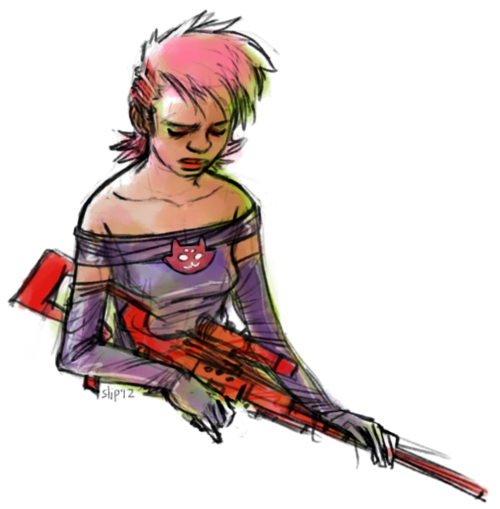 slipstreamborne:  roxy get your gun