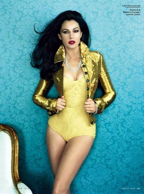 bellabellaboutique:  Monica Bellucci Vanity Fair Spain February 2013