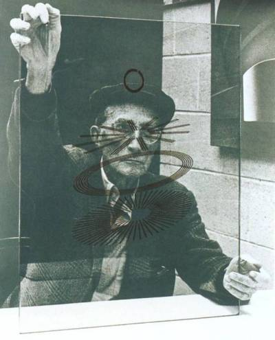 Marcel Duchamp (1967) by Richard Hamilton