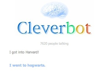 Cleverbot, you sassy ass.