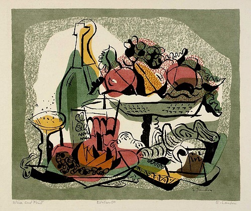 Edward Landon Wine and Fruit  1947