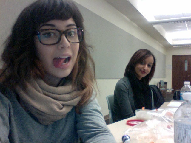 All day study dates with my roommate. Gotta love university.. right?