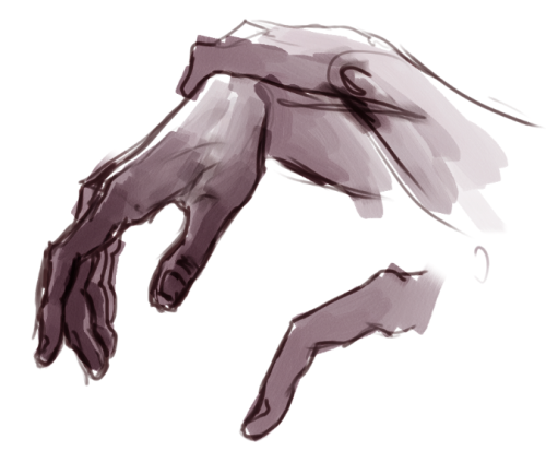 Another hand study. reference (obs: not stock photo. I only use non-stock photos as refs if it's only for art studies and not for final works.)