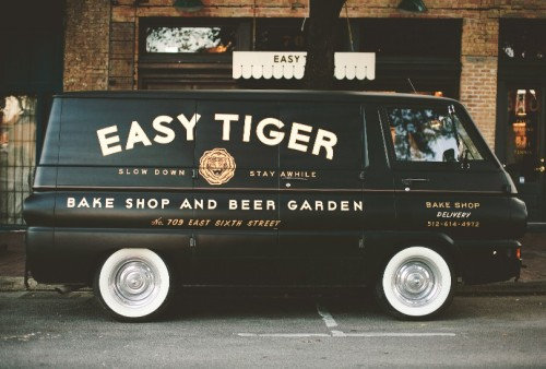 sofarawayfromthesea:  Easy Tiger Bake Shop & Beer Garden. Awesome branding work done by one of my design idols.