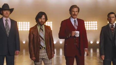 Anchorman 2 escalates quickly, gets a release date. You'll be able to catch Ron Burgundy & Co. on December 20, 2013. Then, go f*&k yourself.