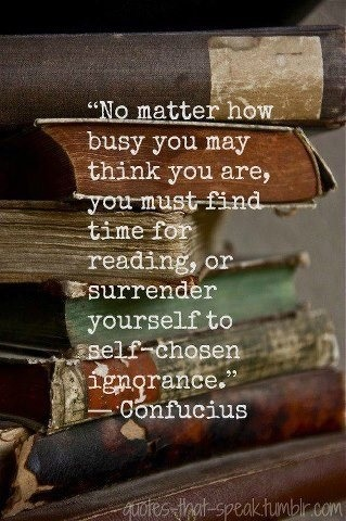 You must find time for reading